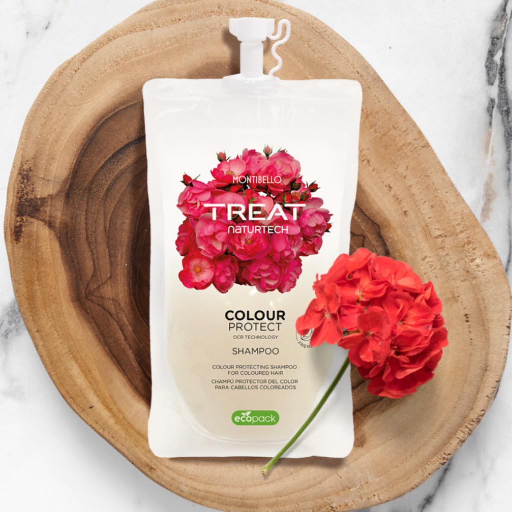 szampon treat naturtech colour protect